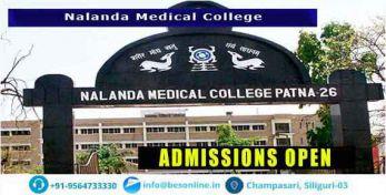 Nalanda Medical College Courses