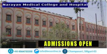 Narayan Medical College and Hospital Admission