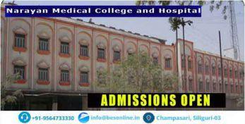 Narayan Medical College and Hospital Exams