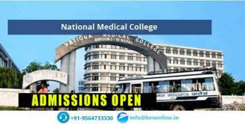 National Medical College Admissions