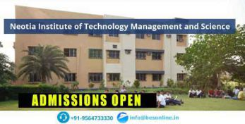 Neotia Institute of Technology Management and Science Facilities