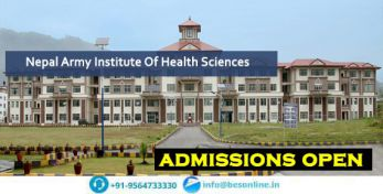 Nepal Army Institute Of Health Sciences Exams
