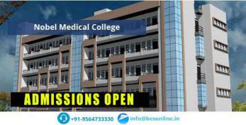 Nobel Medical College Scholarship