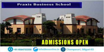 Praxis Business School Fees Structure
