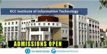 RCC Institute of Information Technology Admission