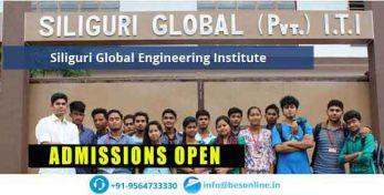 Siliguri Global Engineering Institute Courses