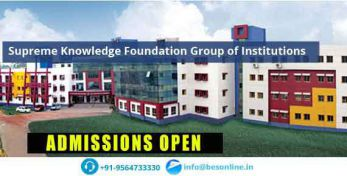 Supreme Knowledge Foundation Group of Institutions Fees Structure