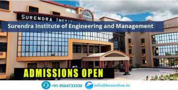 Surendra Institute of Engineering and Management Scholarship