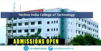 Techno India College of Technology Fees Structure