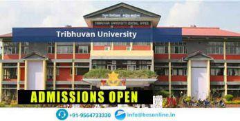 Tribhuvan University of Nepal Courses