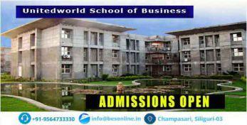 Unitedworld School of Business Admissions