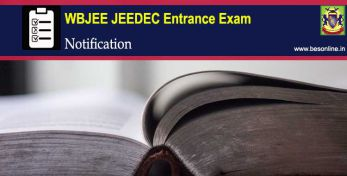 WBJEE JEEDEC 2020 – Entrance Exam Date, Application Form, Eligibility, Result and Counselling.