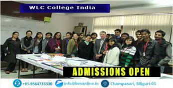 WLC College India Admissions